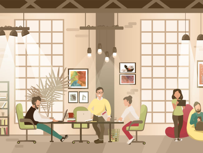 The Benefits of Co-Working Spaces
