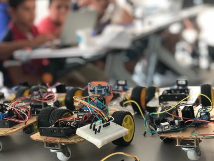 touch and Cherpa Inspiring Youth, One Robot at a Time